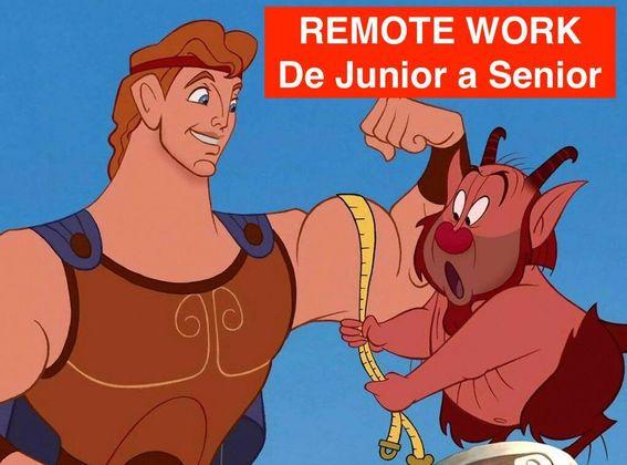 Cover image for Remote Work: De Junior a Senior