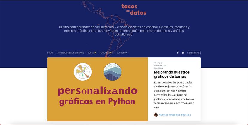 Cover image for el antigüo tacosdedatos.com